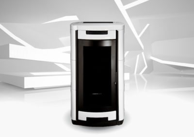 Stufa Morettidesign IDRO VENTIL.28,7 kW 35,5 kW – 24,5 kW 30,5 kW – 22,0 kW 27,7 kW – 18,0 kW 23,5 kWkW AQUA ALL STYLE ALLCLEAN