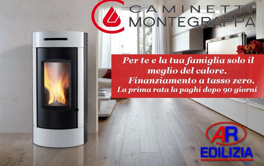 Stufe a pellet Caminetti Montegrappa Napoli