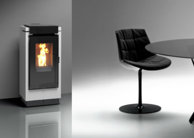 Stufa a pellet Thermorossi MON AMOUR 7 kw