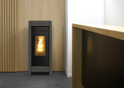 Stufa a pellet Thermorossi Aromy idra metalcolor 13.5kw