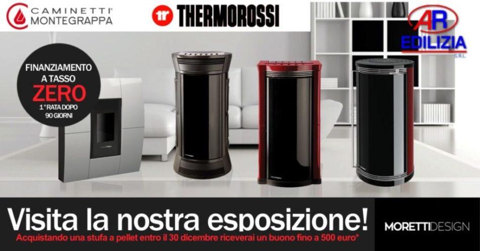 Stufe a pellet Moretti design Napoli