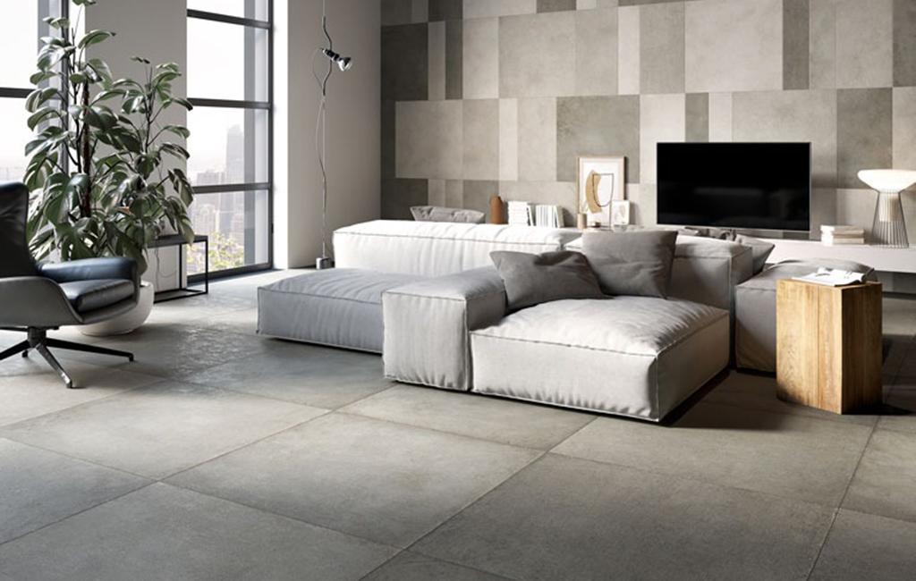 effetto cemento ceramiche rondine