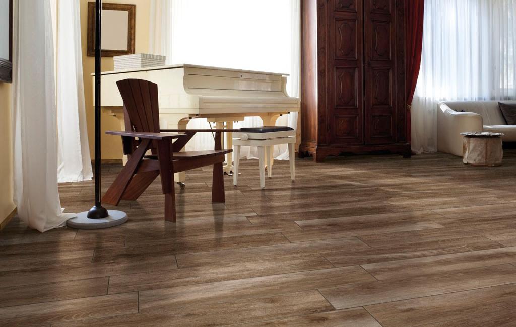 Pavimento effetto legno ceramiche rondine