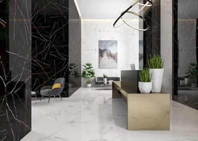 pavimento Canova ceramica rondine effetto marmo